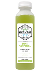 The Fountain of Juice Mint Condition 100% Raw Juice | All Natural, Cold-Pressed, No-HPP, Vegan, Gluten-Free