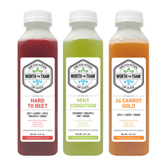 The Fountain of Juice Roots Pack 100% Raw Juice | All Natural, Cold-Pressed, No-HPP, Vegan, Gluten-Free