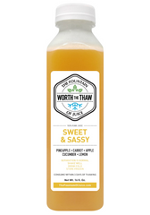 The Fountain of Juice Sweet & Sassy 100% Raw Juice | All Natural, Cold-Pressed, No-HPP, Vegan, Gluten-Free