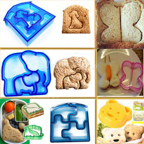 Children's Sandwich Mold Cutter Shape
