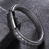 top ten mens leather bracelet