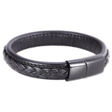 top five leather bracelets for men are here