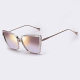 Fashion Women Sunglasses Cat Mirror Glasses Metal Cat Eye Sunglasses, glasses, MHY STORE - MHY STORE