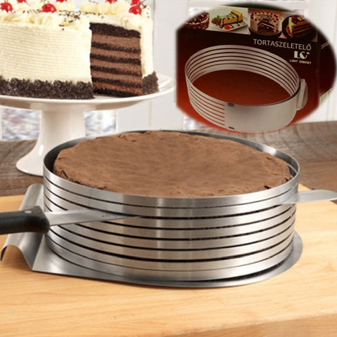 Cake slicer makes great food slicer for your baking needs.