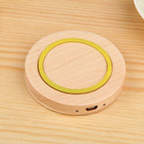 Universal Wireless Wood Phone Pad Charger