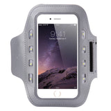 LED Armband Light Sport Running Armband for iphone 6 6s Waterproof Surface