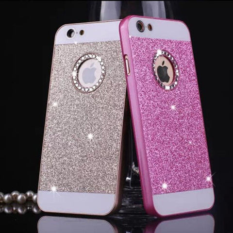 Hard Bling Plastic Phone Cover Case for iphone 5 5s