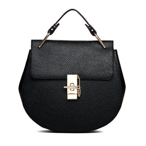 Famous Brand Leather Women Shoulder Bag Vintage Style Totes, handbag, MHY STORE - MHY STORE