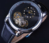 top five skeleton watch for men with dual movement