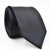Designer Ties Like Jacquard Mens Ties Are Woven Geo Crossed Pattern