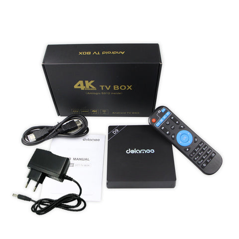 Android TV Box D9 Smart Streaming Media TV Box WiFi