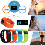 Smart Bracelet Bluetooth Waterproof OLED Touch Screen Pedometer Tracker Wireless Activity Wristband Sport Smart Wristband Sleep Monitor Call Reminder for Smartphone, Tech, MHY STORE - MHY STORE