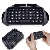 Wireless Chatpad Message Keyboard For PS4 PlayStation 4 Game Controller Black