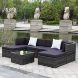 This 7 piece outdoor furniture patio set is part of our garden furniture sale
