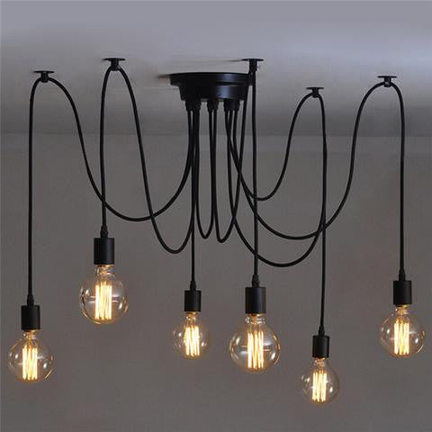 INDUSTRIAL EDISON CEILING PENDANT STYLE LIGHTS