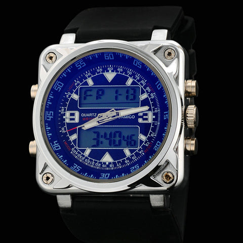 best birthday gift for men is this designer watch styled as a military watch