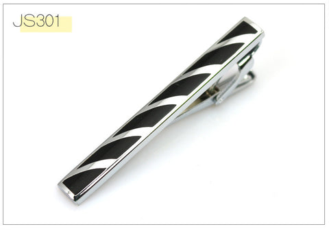 Tie Clip Silver Metal Clips for Men