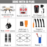 Red Ranger Quadcopter Drone 2.4G with 4CH RC  1080P 8MP HD Camera