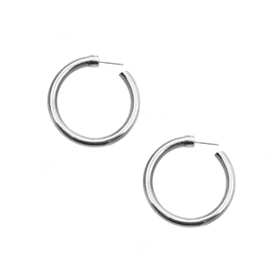 All Around Large Hoop Earrings
