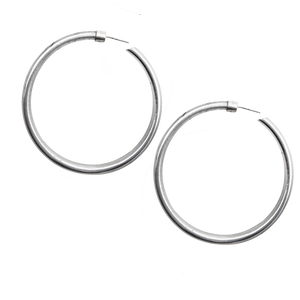 VIRTUOUS CIRCLE JUMBO HOOPS