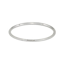 Load image into Gallery viewer, LOVE IS THE BOMB  7 DIAMOND BANGLE