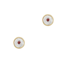 Load image into Gallery viewer, BIRTHSTONE 14K GOLD STUD EARRINGS