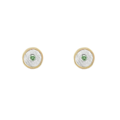 Birthstone 14K GOLD Stud Earrings