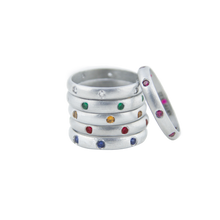 Load image into Gallery viewer, BIRTHSTONE 7 GEMS RING