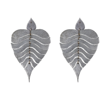 Load image into Gallery viewer, In the Breeze, Bodhi Leaf Earrings