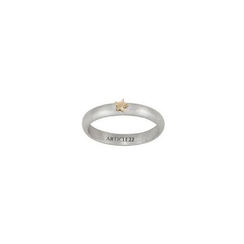 COSMOS RING 14K YELLOW GOLD