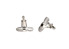 Load image into Gallery viewer, Story Bomb Cufflinks Sterling Silver