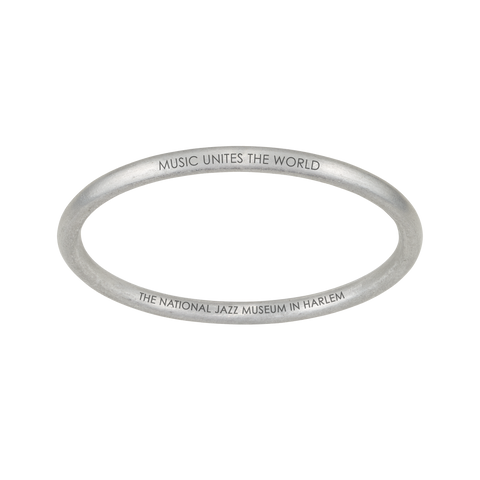"""MUSIC UNITES THE WORLD"" BANGLE - CHRISTIAN MCBRIDE COLLABORATION"