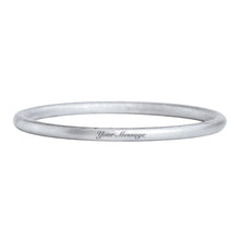 Load image into Gallery viewer, CUSTOM ENGRAVED CLASSIC BANGLE