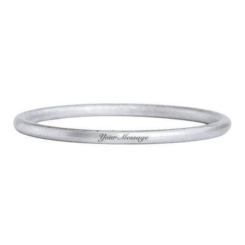 Your Message Classic Bangle