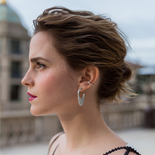 "Load image into Gallery viewer, PURCHASE OUT ""EMMA"" DOME EARRINGS AND RECEIVE 50% OFF OUR VIRTUOUS CIRCLE EAR CUFF"