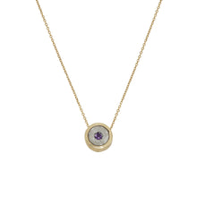 Load image into Gallery viewer, BIRTHSTONE NECKLACE AND BANGLE SET (50% OFF OUR BIRTHSTONE BANGLE WHEN PURCHASED TOGETHER)