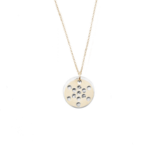 Load image into Gallery viewer, FRUIT of Life Necklace 14K Gold or Silver