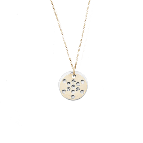 FRUIT of Life Necklace 14K Gold or Silver