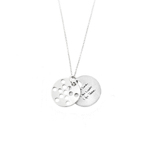 Load image into Gallery viewer, 1.3CM FRUIT OF LIFE NECKLACE
