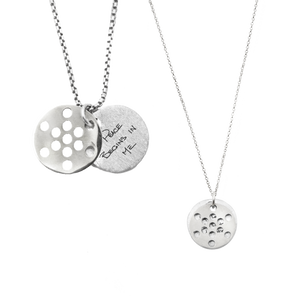 FRUIT OF LIFE NECKLACE SET (1.9CM AND 1.3CM)  - SALE $180 OFF
