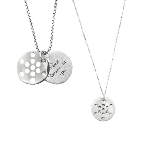 FRUIT OF LIFE NECKLACE SET FOR FRIENDS, COUPLES, FAMILIES (save 10-22%, reg. $470 SSV, $1,310 14K)