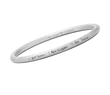 Load image into Gallery viewer, I am Love, I am Light, I am Peace Bangle