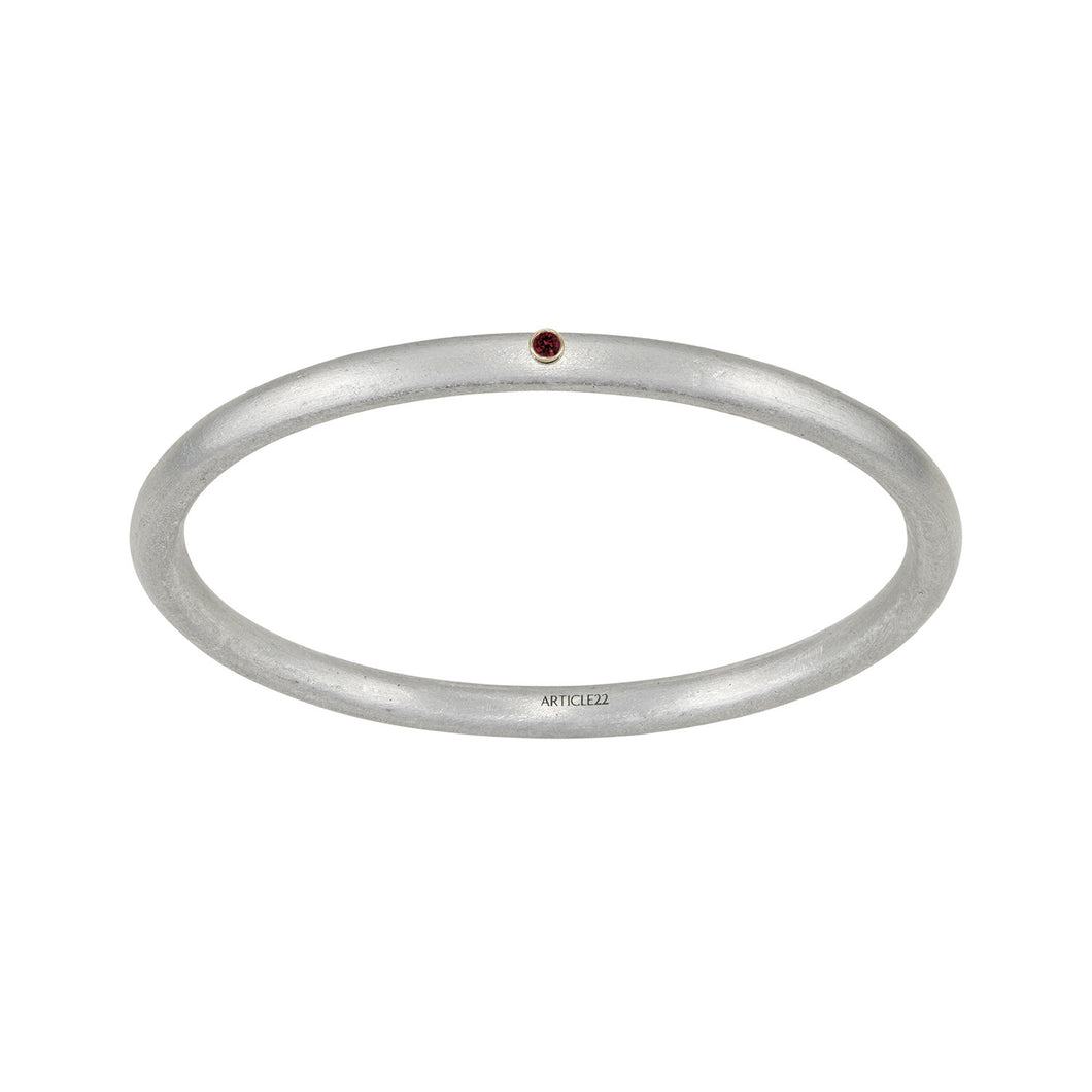 Birthstone 14K Classic Bangle