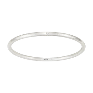 LITTLE BUT FIERCE WHITE DIAMOND BANGLE