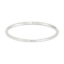 Load image into Gallery viewer, LITTLE BUT FIERCE WHITE DIAMOND BANGLE