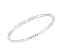 Load image into Gallery viewer, Love Is The Bomb - 1 White Diamond Bangle