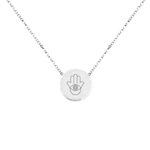 "HAMSA ""EYE OF PROTECTION"" MANTRA NECKLACE"