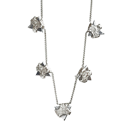 Ashes Triangle Collar Necklace
