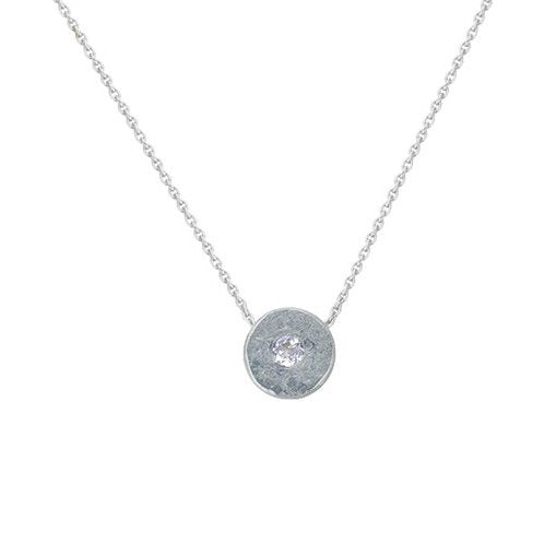 LITTLE, BUT FIERCE DIAMOND NECKLACE