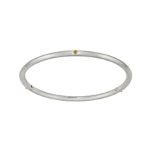 Load image into Gallery viewer, YOUR MESSAGE Birthstone 14K Skinny Bangle